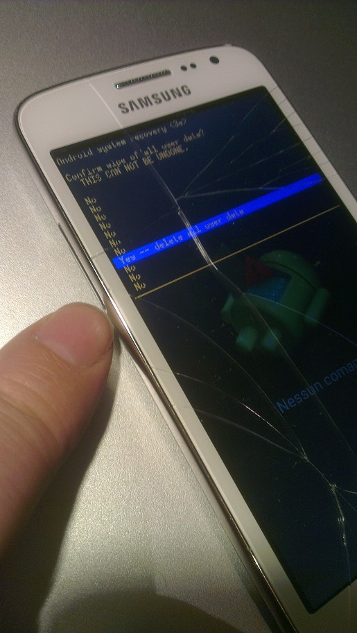 Samsung S5 Mini SM-G80 Mini SM-G800 Factory Reset - Hard Reset